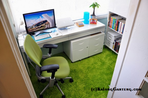 Contoh tempat dan suasana yang nyaman untuk ngeblog