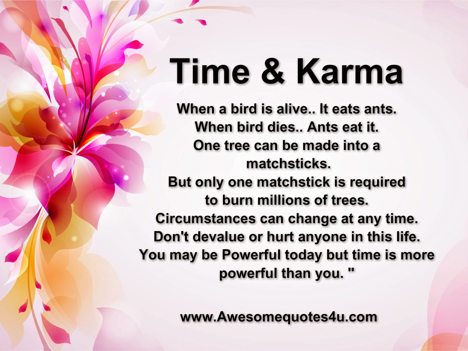 Quotes About Friendship And Karma : Quotes and sayings about karma quotesgram