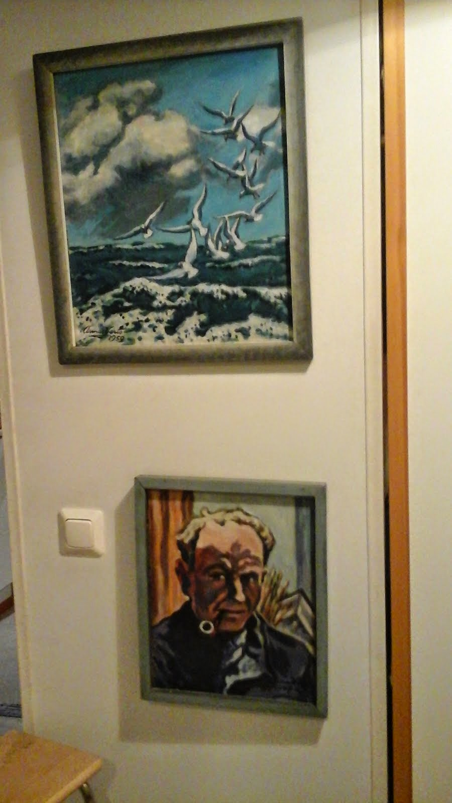 Armas ja lokit, Artist and seagulls
