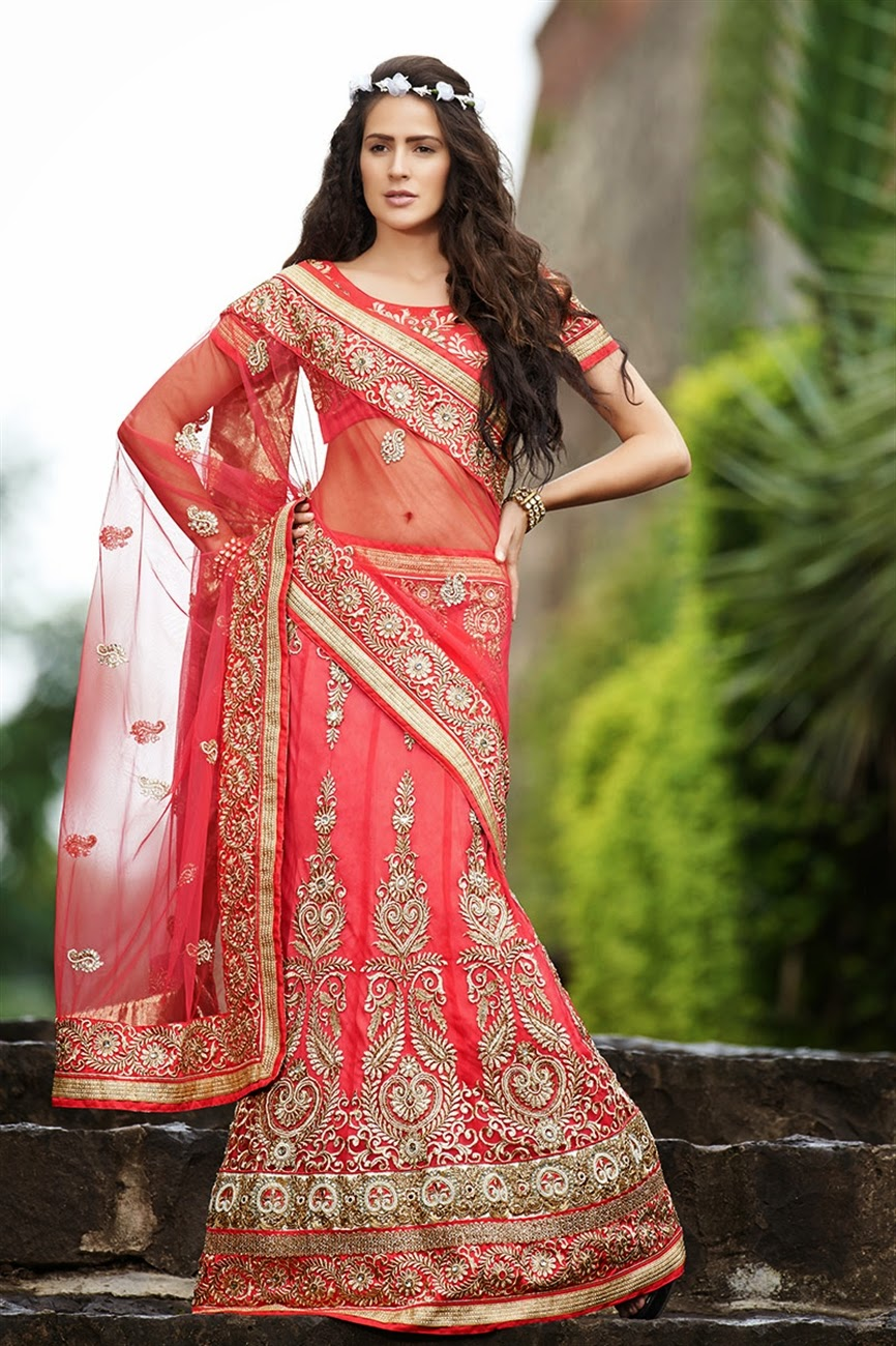 Six Yards Of Sheer Luxury All New Lehenga Saree Styles Fashion Feature