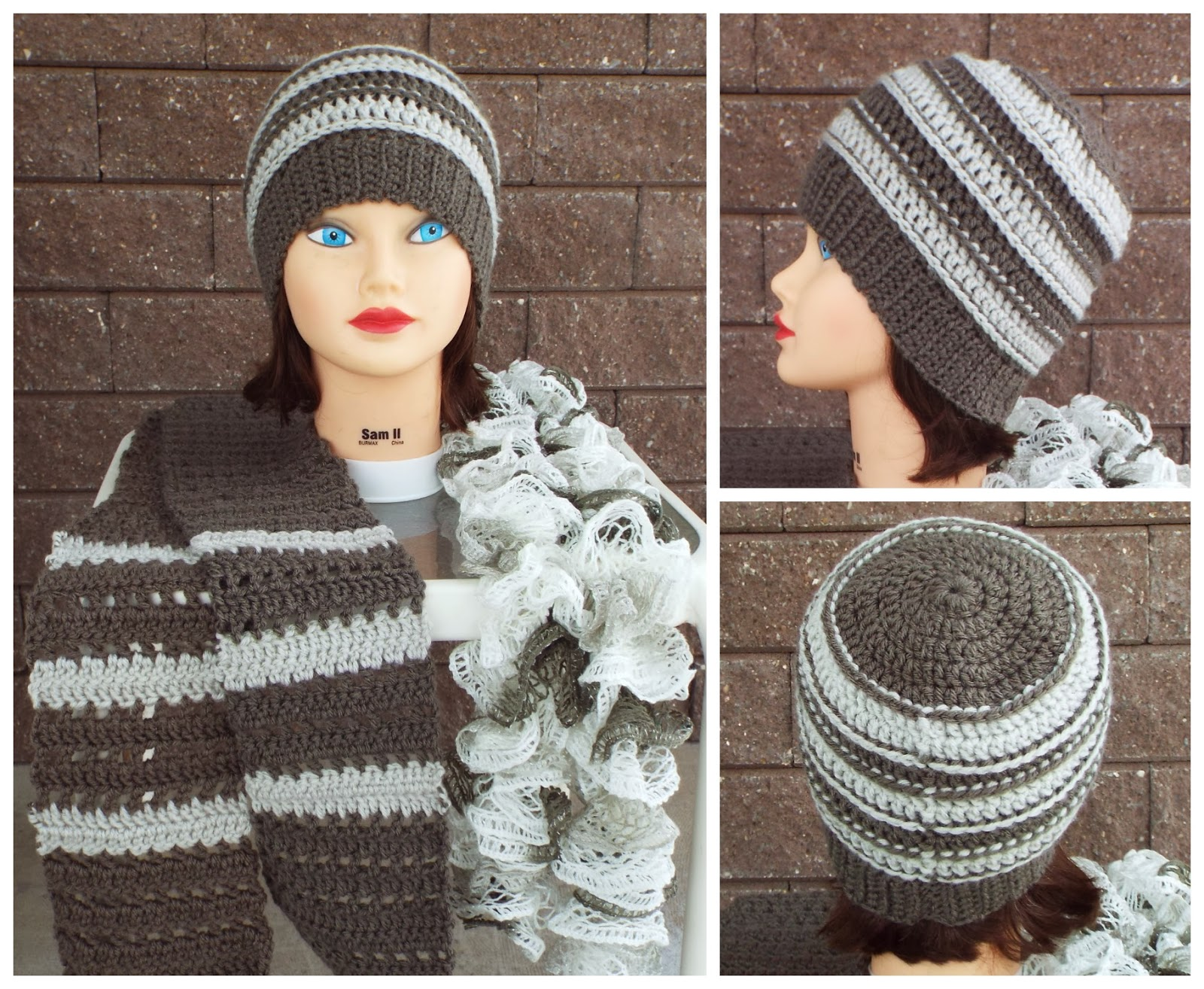 Crochet Scarf Patterns Using Q Hook : Hooks Happenings: Some crochet projects