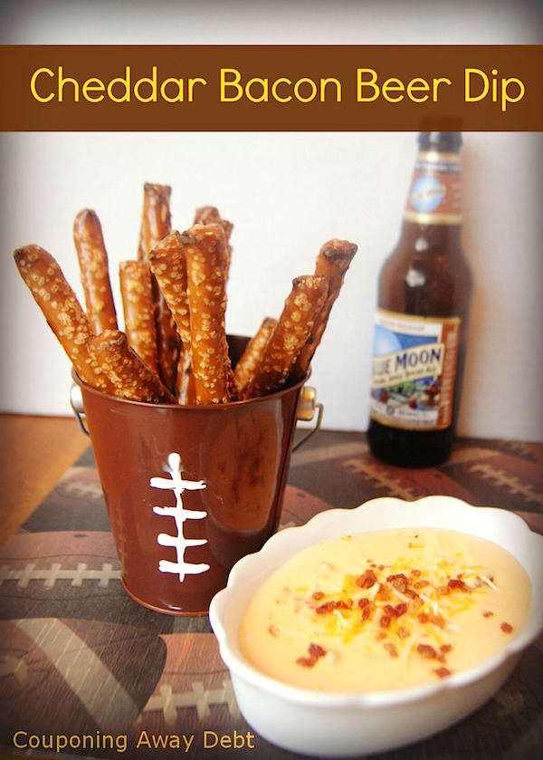 Cheddar Bacon Beer Dip by More Than a Mom of Three