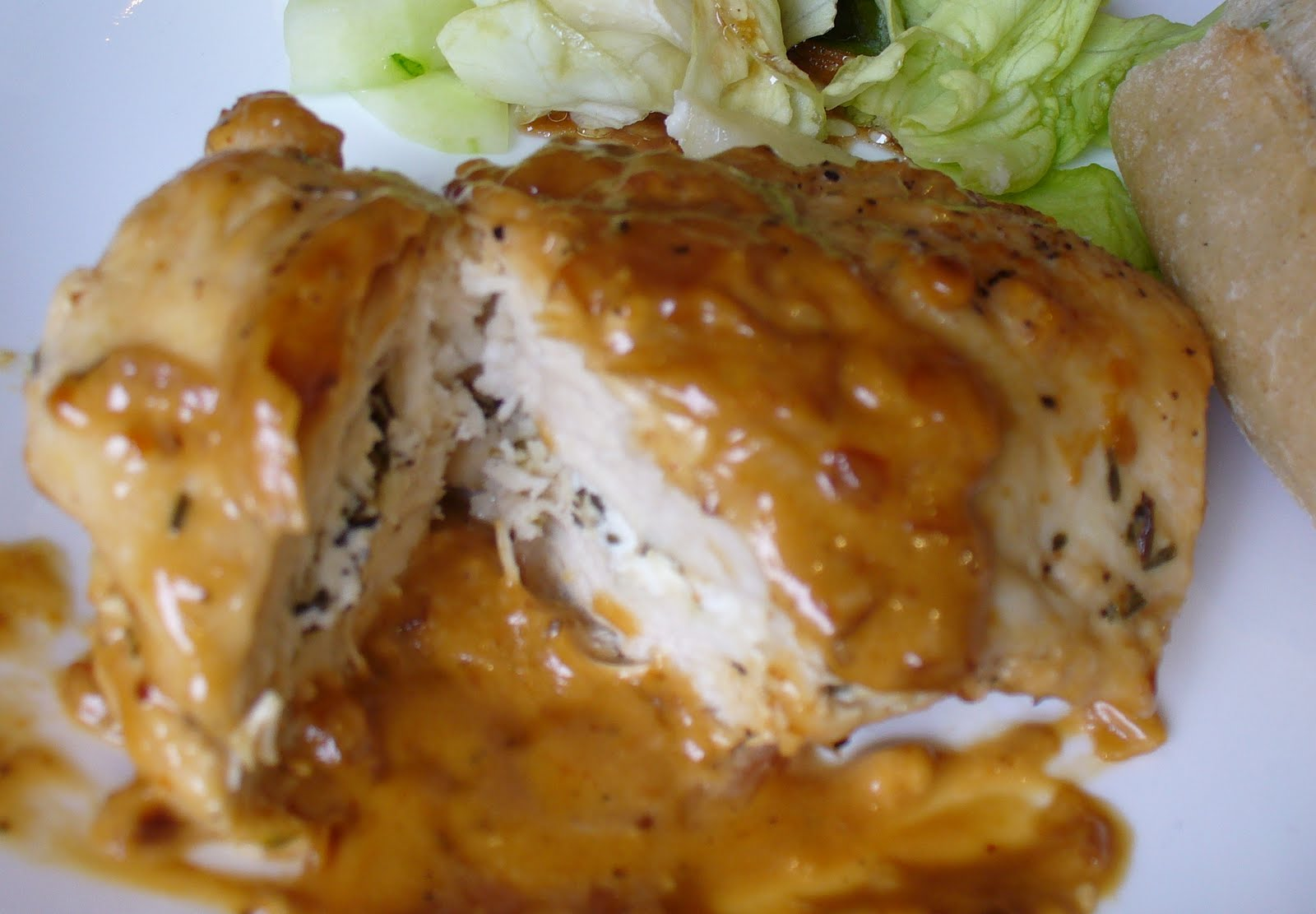 Recipe Shoebox: Goat Cheese and Herb Stuffed Chicken