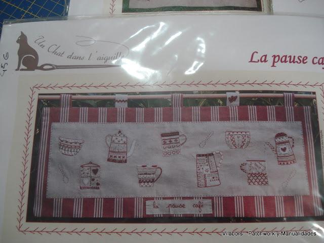 Kit Un Chat dans l'aiguille - La pause café - Vilabors