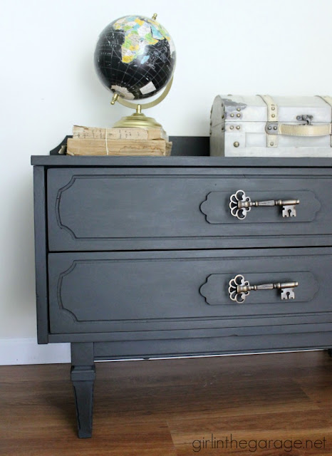 graphite, chalk paint, link party, furniture contest, linky party