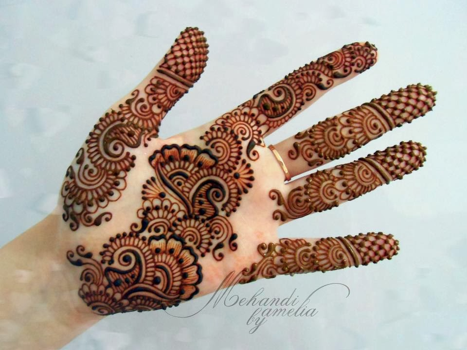 Mehndi Designs For Girls : Hair style amelia mehndi designs for young girls