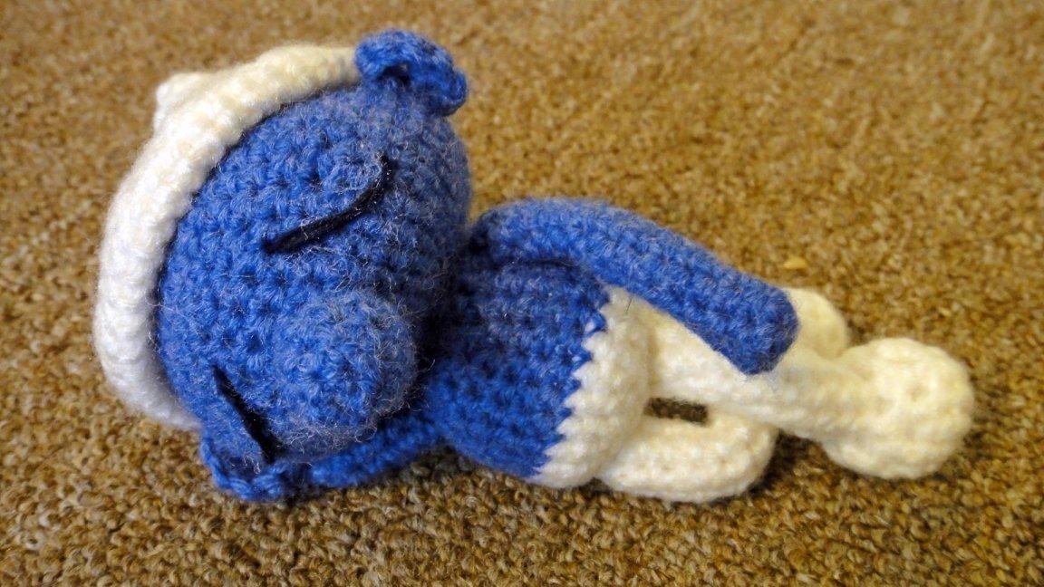 Çõlõürs őf thĕ Çlõüd: Amigurumi Lazy Smurf (crochet pattern) 小懶蟲 ...