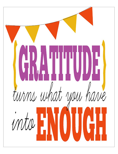 "free fall ""gratitude"" printable by bonhomieEVENTS"