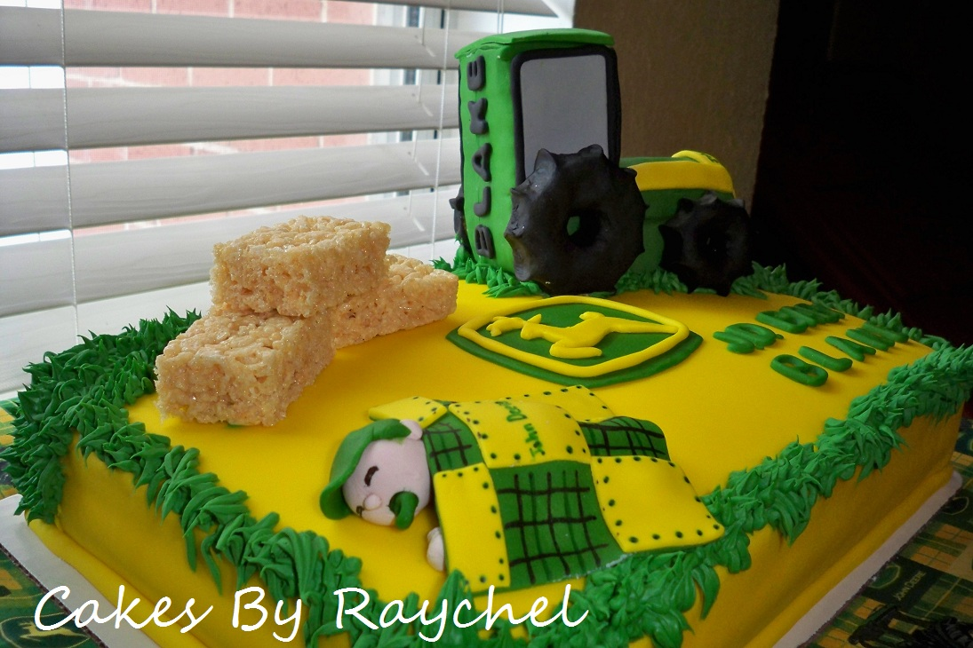 John Deere Baby Shower Cake Pictures
