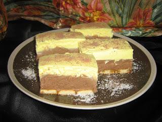 Ice cream biscut cake