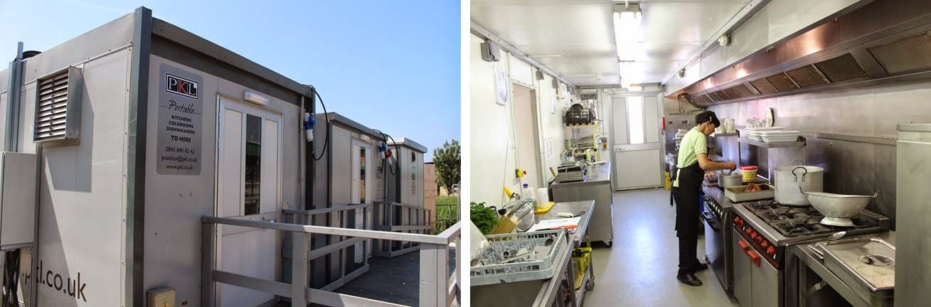 PKL Temporary Kitchens for Schools