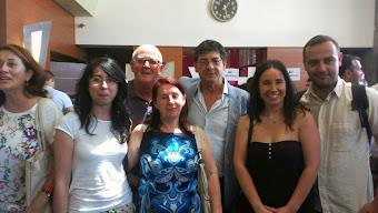 Delegados/as de la Serranía de Ronda con Diego Valederas