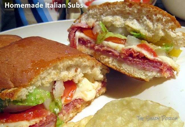 Homemade Italian Subs