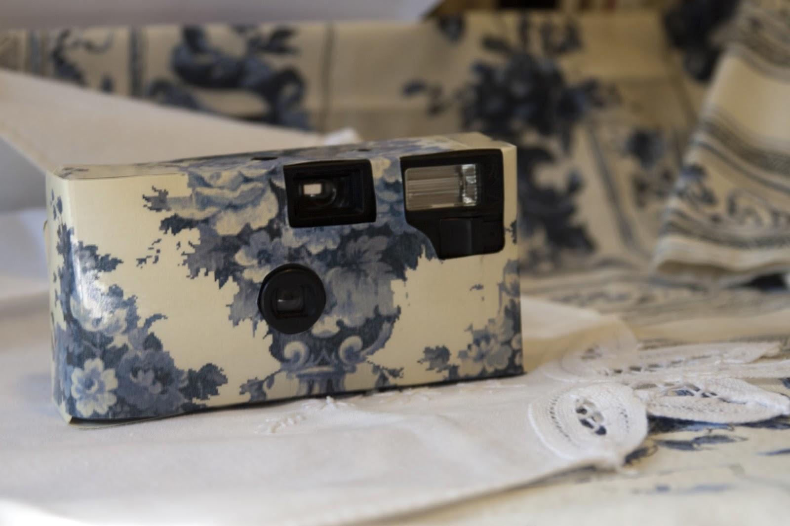 Vintage Jenee Davis Diy Disposable Wedding Cameras