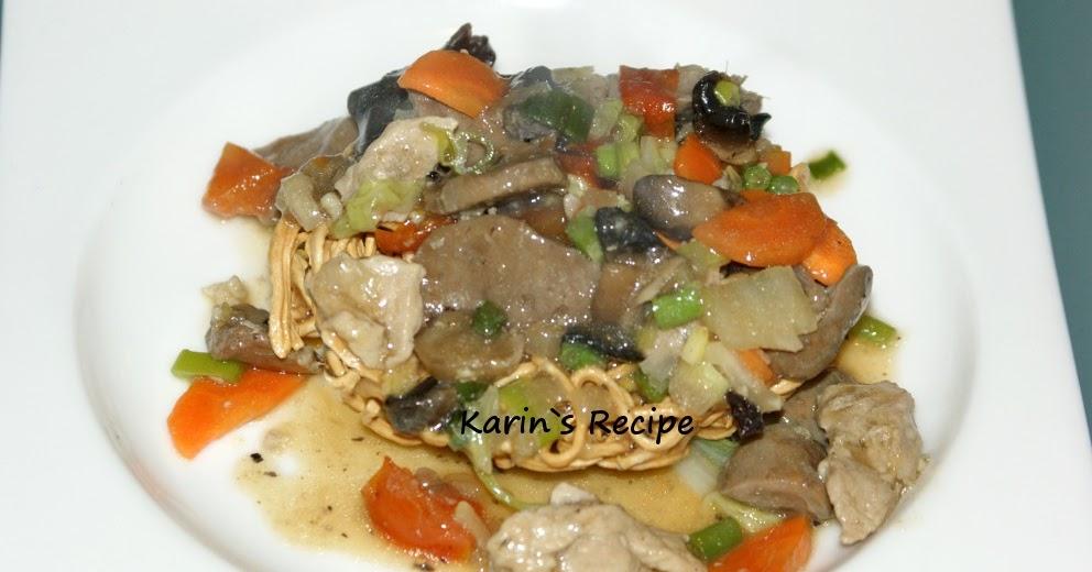 Karin 39 s recipe i fu mie goreng fried i fu mie for Aw dang asian cuisine