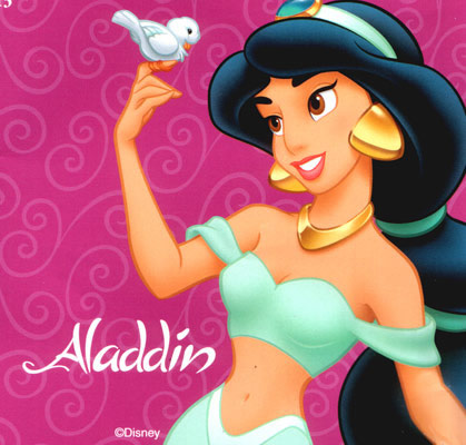 Beautifull disney princess jasmine alladin cartoon wallpaper - Princesse jasmine disney ...