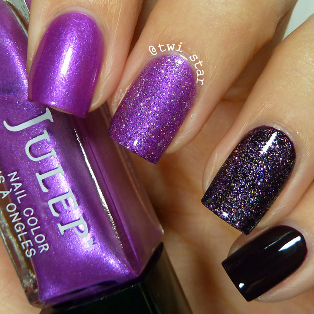 twi-star   Nail Art Blog: Julep Katie, Queen Anne, and Nails Inc ...