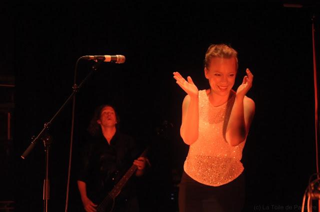 Belleruche en concert au Café de la Danse le 27 juin 2012, Kathrin DeBoer et Ricky Fabulous