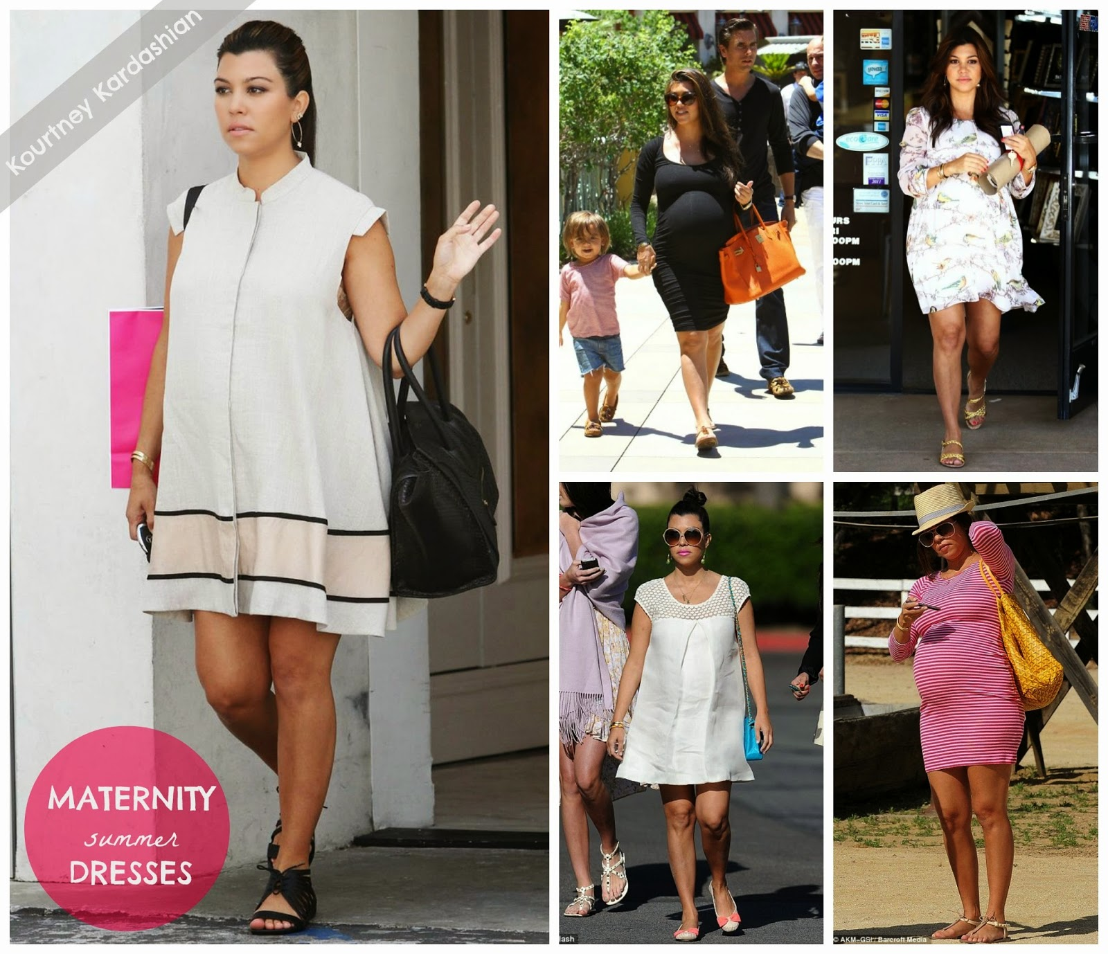 Steal Her Style: Kourtney Kardashian Maternity // The Twisted Horn