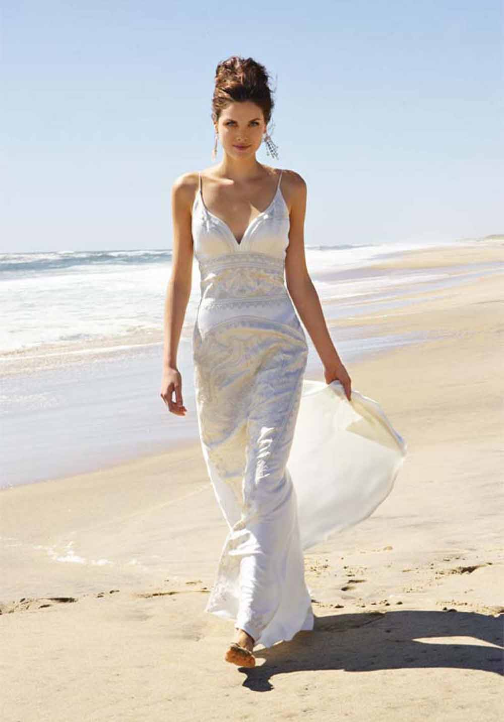 Beach Bridal Dresses 2015, Cheap Beach Wedding Dresses Under 100, Summer Dresses for Beach, Casual Bridal Dresses, White Beach Dresses for Vacation, Elegant Dresses for a Wedding, Casual Beach Wedding Guest Dresses, Casual Bridesmaid Dresses for Outdoor Wedding