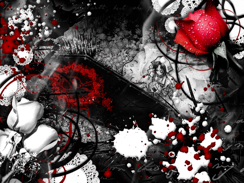 Love Wallpaper With Blood : emo background wallpaper See To World