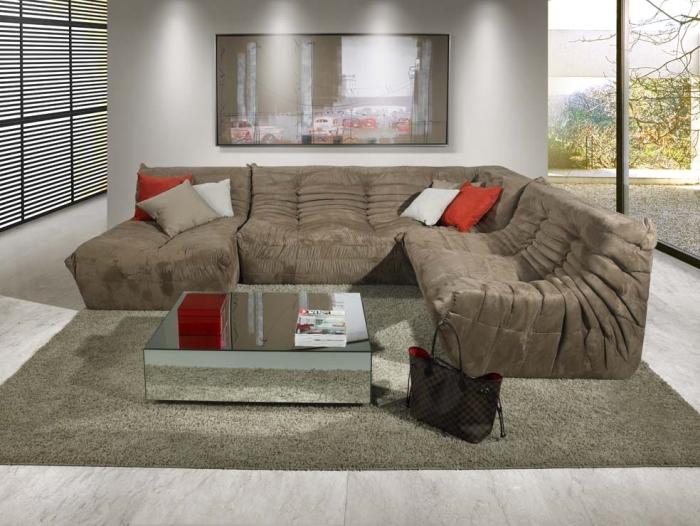 Sala De Estar Com Sofa Marrom ~ sofa+sala+de+estar+branco+marromJPG