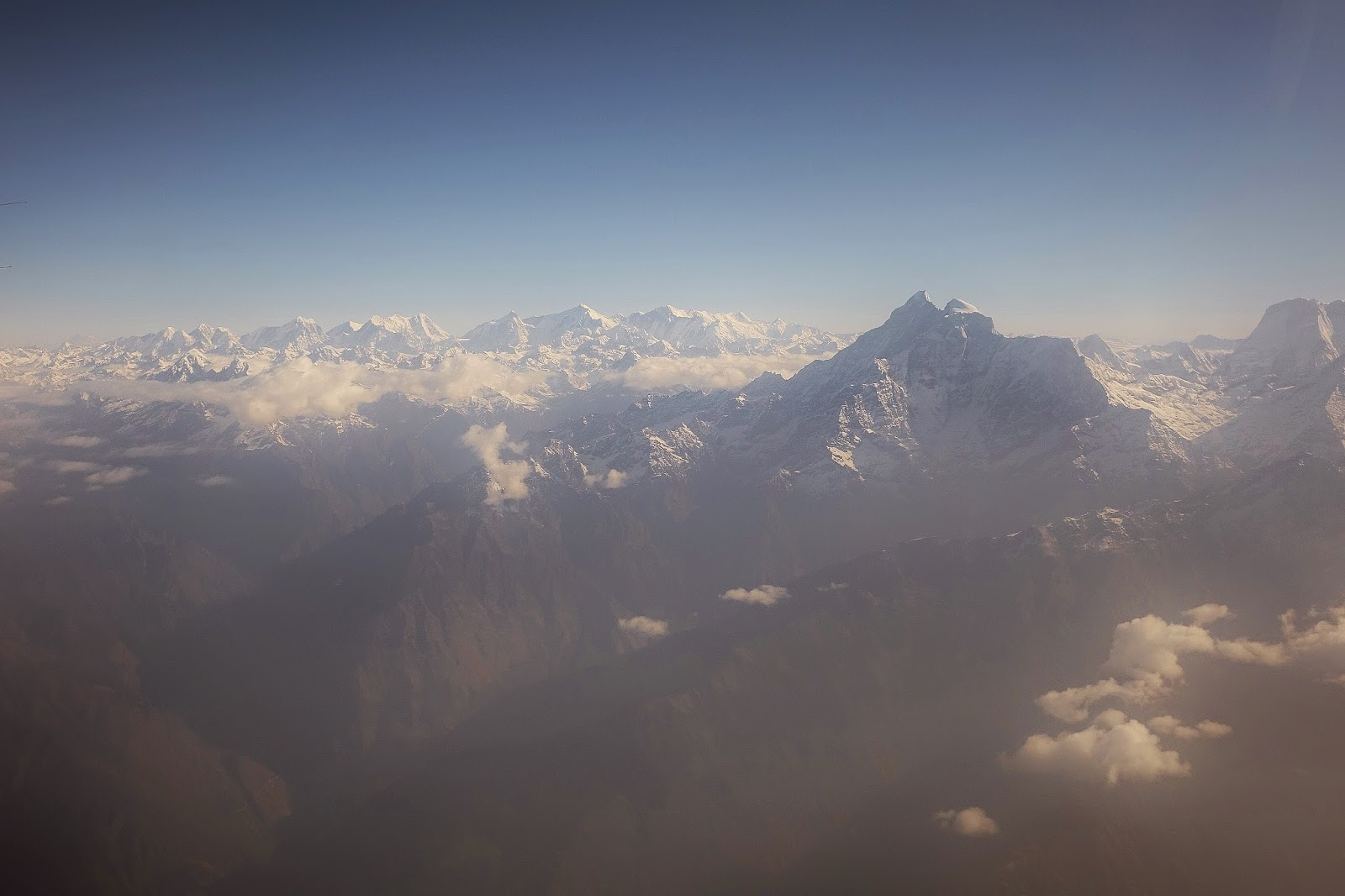 NEPAL:  Mountain Flight to Mount Everest
