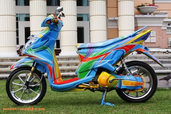 Modif Yamaha Nvl 2014