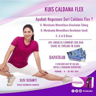 Info Kuis - Kuis Caldana Flex