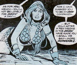 Conan the Barbarian #44, Red Sonja captive