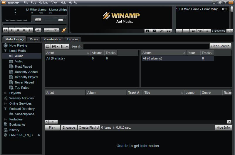 DOWNLOAD WINAMP TERBARU 2011 Download Gratis