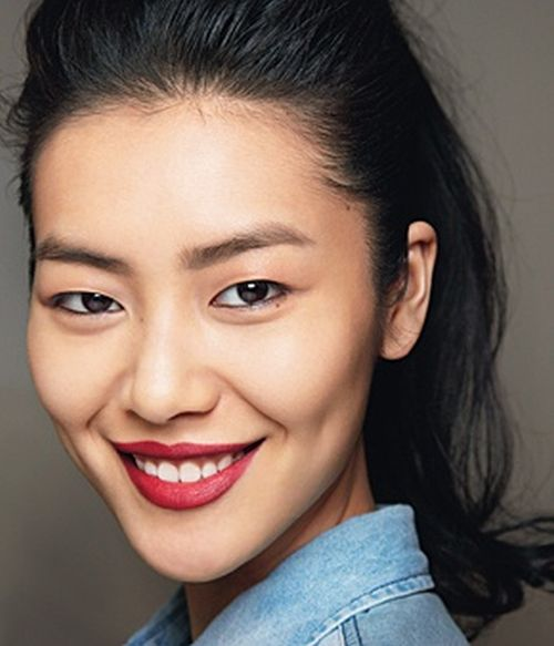 stylish and easy makeup with beautiful red lips