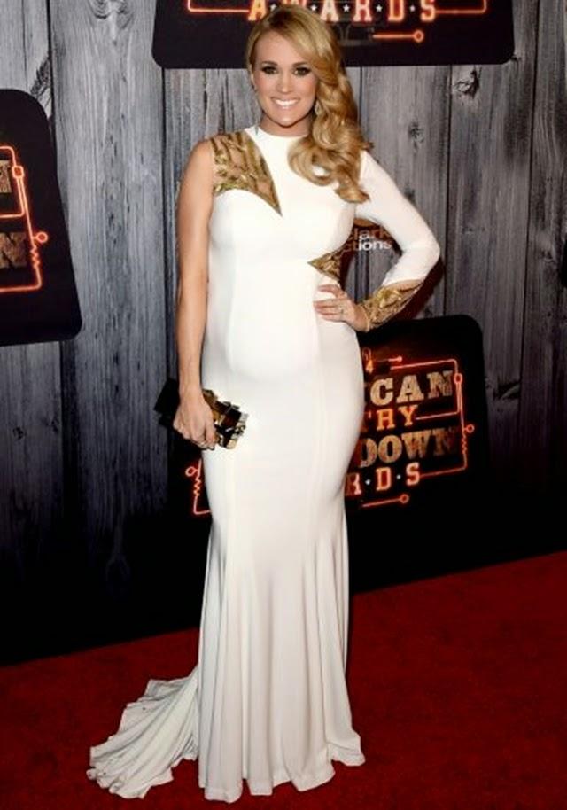 O que a famosa Carrie Underwood veste