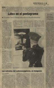 Dómina Zara en el Diario 16