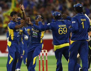 Sri Lanka beat Australia by 3 runs