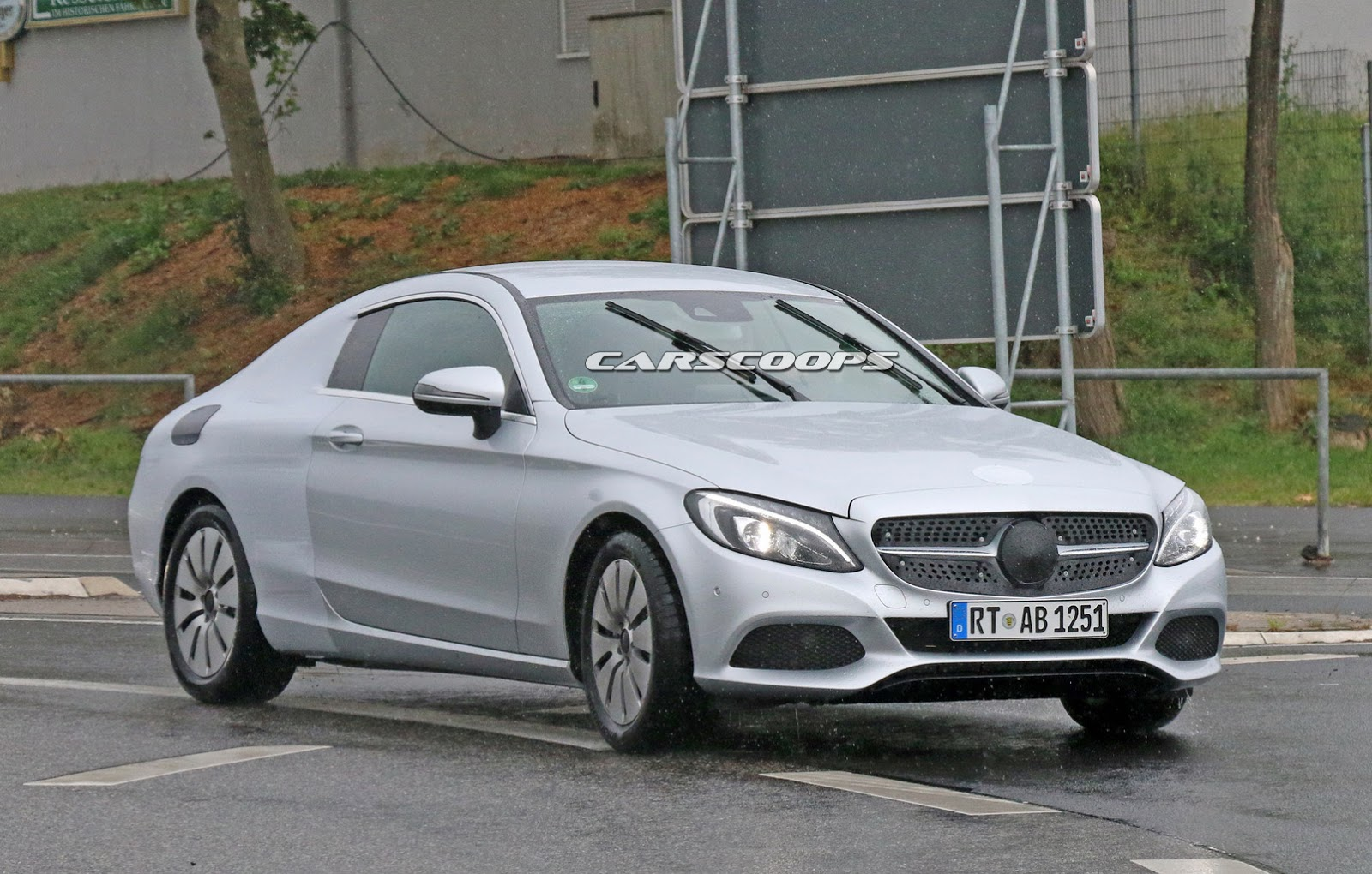 New MercedesBenz CClass Coupe Honig I Shrunk The SClass Coupe