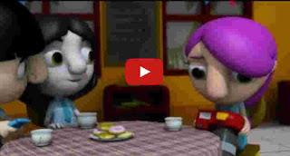 kartun animasi 3D Aditya dan putri matahari Bg.2