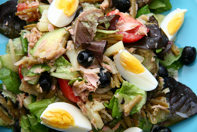 Salade Nicoise by Katrin Morenz via Flickr
