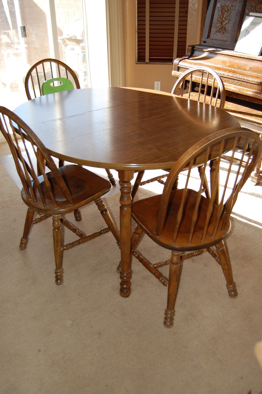 diy refinishing dining table