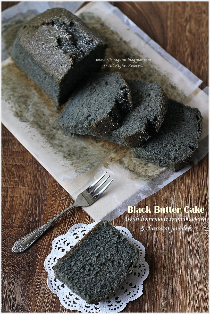 Okara Butter Cake