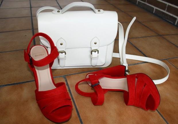 bolso maletin blanco
