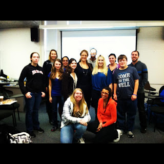 rider university presenting social media and writing for