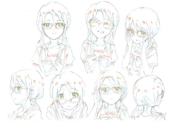 Takayama Sayoko character design The Idolm@ster Million Live