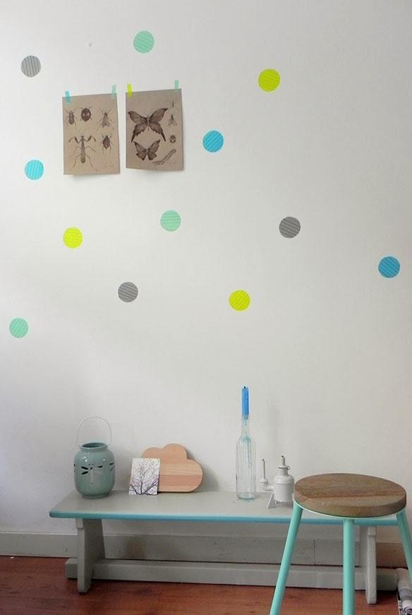 Ideas para decorar con washi tape boho deco chic - Ideas para decorar con washi tape ...