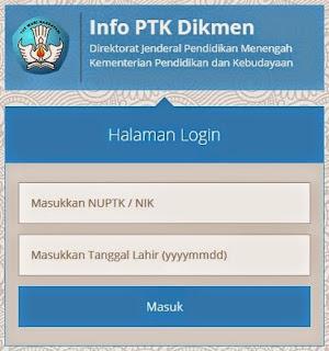 gambar cek info ptk dikmen 2015