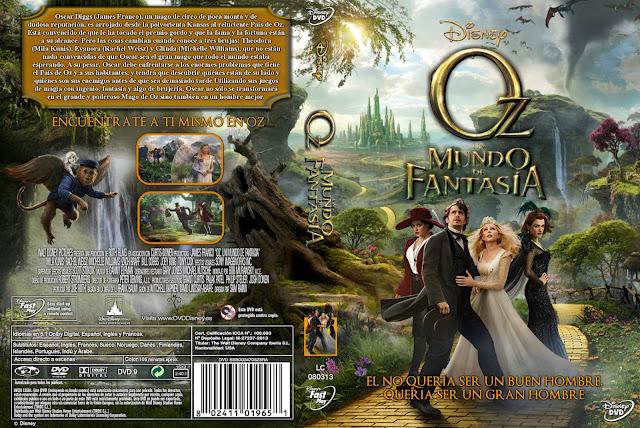 Oz Un Mundo De Fantasia Dvd