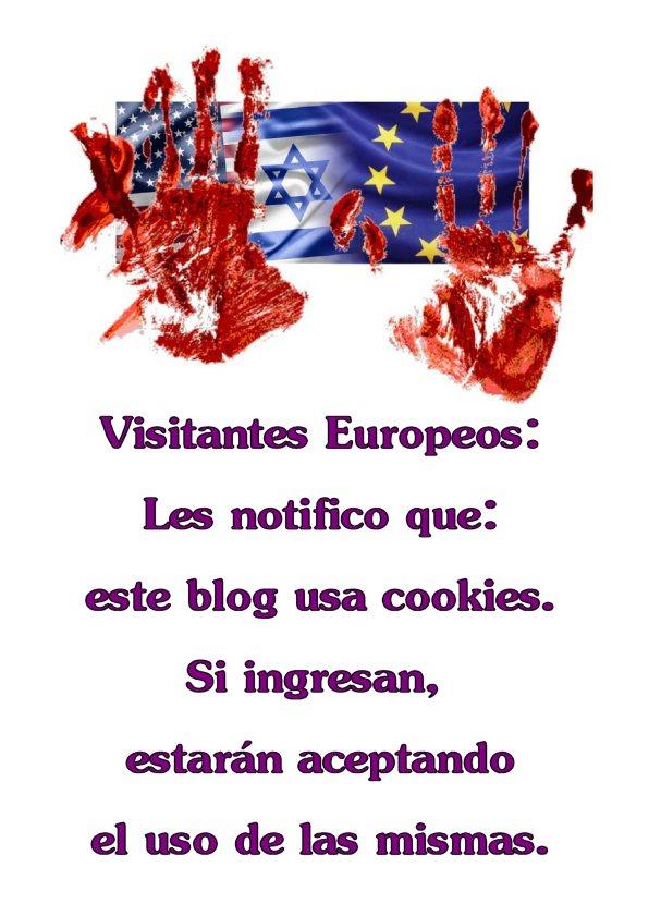 Ley Europea sobre uso de cookies.