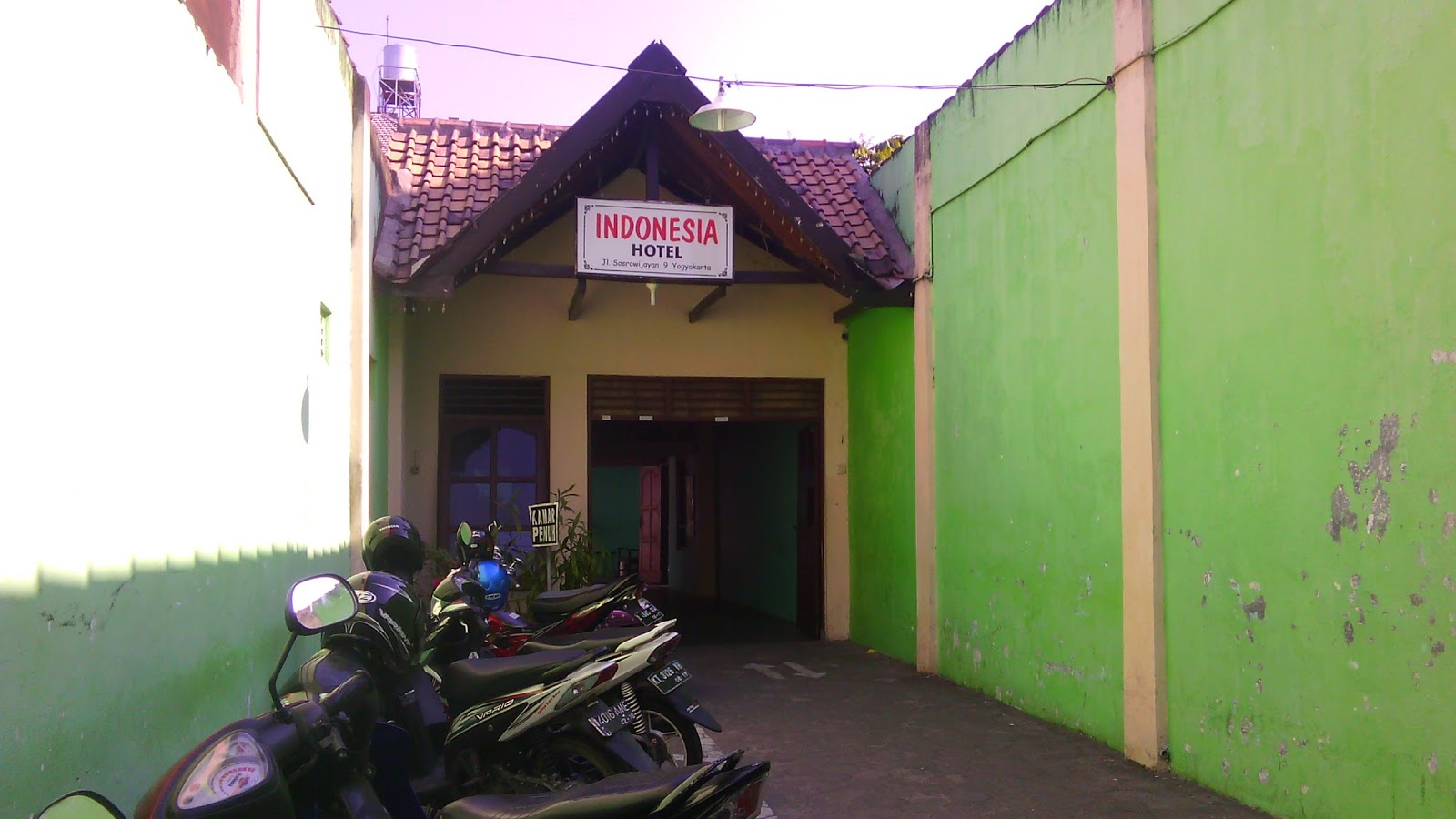 Hotel Murah Malioboro Jogja Indonesia Sosrowijayan