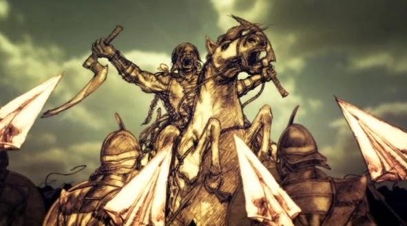 Battle of qohor adelanto contenido extra blu-ray 3T juego de tronos - Juego de Tronos en los siete reinos