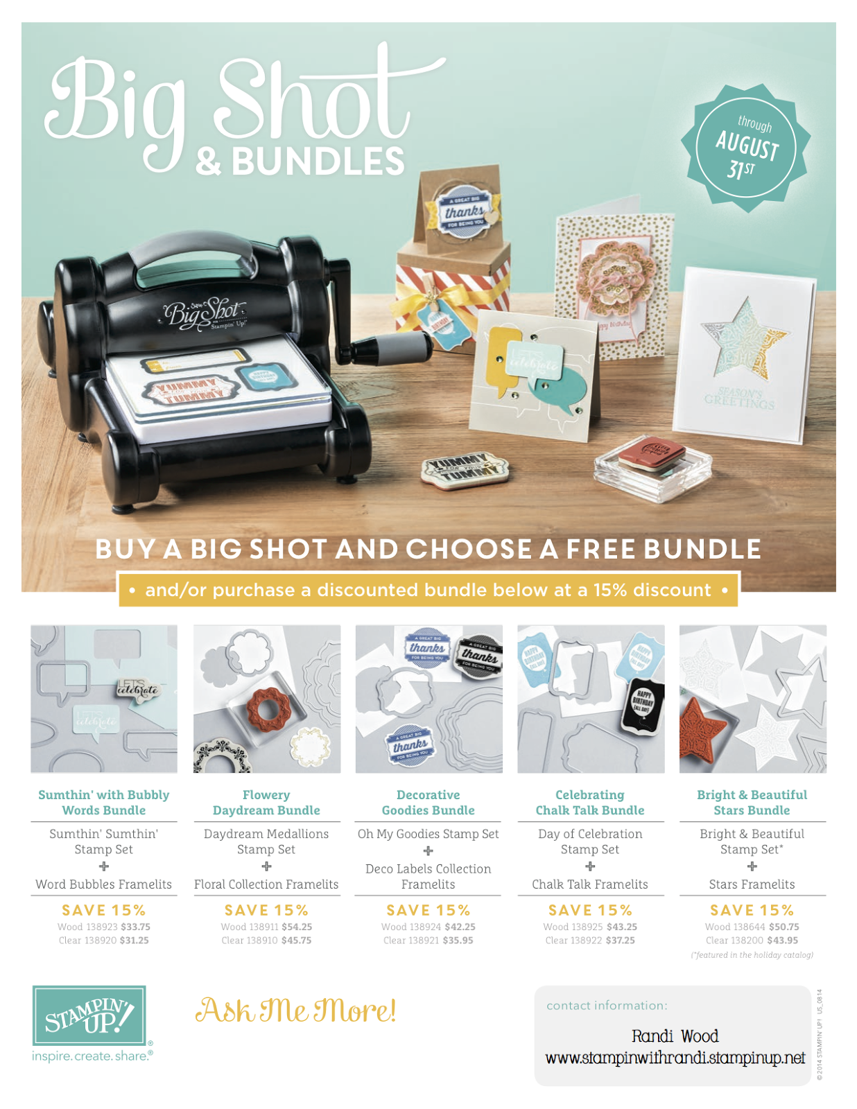 Click here to see these products in my Stampin' Store!